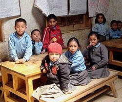 Children at Solu